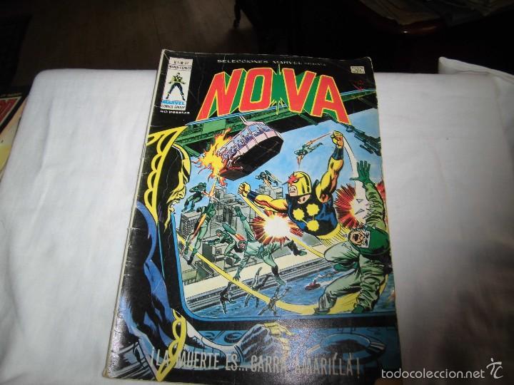 NOVA VOL.I.-Nº 37.LA MUERTE ES...GARRA AMARILLA (Tebeos y Comics - Vértice - Otros)