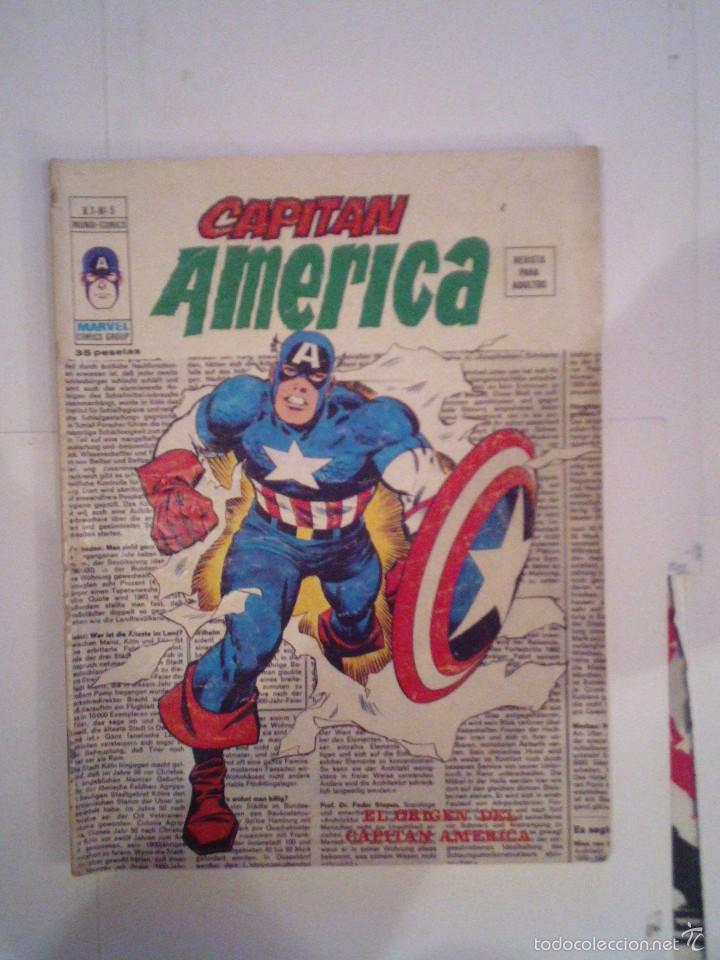 CAPITAN AMERICA - VOLUMEN 3 - VERTICE - NUMERO 5 - CJ 75 - GORBAUD (Tebeos y Comics - Vértice - Capitán América)