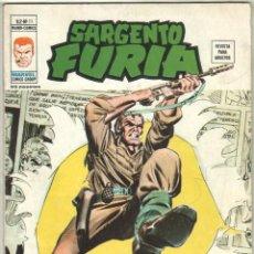 Cómics: SARGENTO FURIA V.2 - Nº 11 EDI. VÉRTICE 1974. Lote 57275500