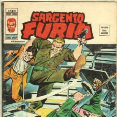 Cómics: SARGENTO FURIA V.2 - Nº 23 EDI. VÉRTICE 1974. Lote 57275512