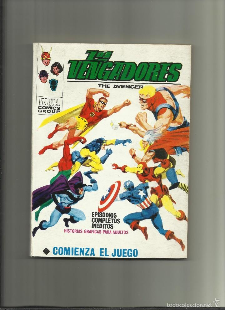 LOS VENGADORES 31 (Tebeos y Comics - Vértice - Otros)