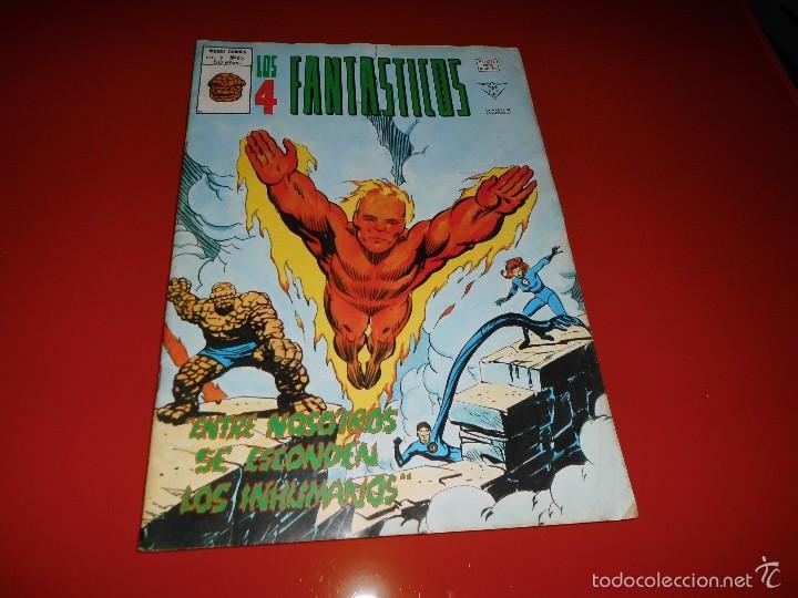LOS 4 FANTASTICOS VOL. 3 Nº 25 MUNDI COMICS VERTICE (Tebeos y Comics - Vértice - 4 Fantásticos)