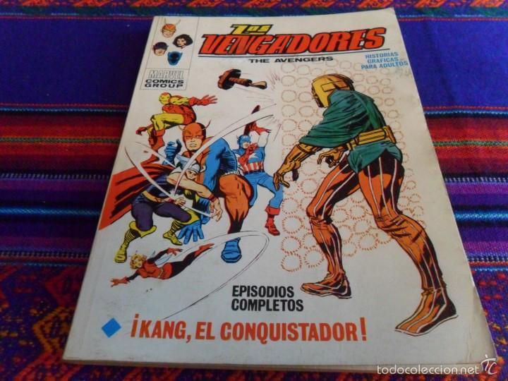 VÉRTICE VOL. 1 LOS VENGADORES Nº 4. 1971. 25 PTS. KANG, EL CONQUISTADOR. MBE. (Tebeos y Comics - Vértice - Vengadores)