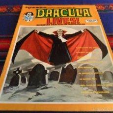Cómics: VÉRTICE VOL 1 ESCALOFRÍO Nº 15 DRACULA LIVES! Nº 4. 30 PTS. 1974. MBE. . Lote 57362425