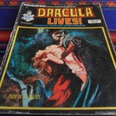 Cómics: VÉRTICE VOL 1 ESCALOFRÍO Nº 38 DRACULA LIVES! Nº 10. 35 PTS. 1975. EL POZO DE LA MUERTE.. Lote 57362463