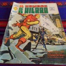 Cómics: VÉRTICE VOL. 2 EL HOMBRE DE HIERRO Nº 2. 30 PTS. 1974. EL CORTANTE FILO DE LA MUERTE. DIFÍCIL.. Lote 57362708