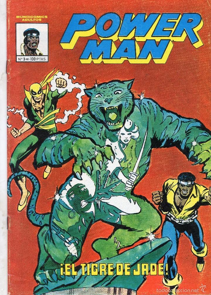 COMIC VERTICE - MUNDI COMICS 1982 POWERMAN Nº 3 (MUY BUEN ESTADO) (Tebeos y Comics - Vértice - Grapa)