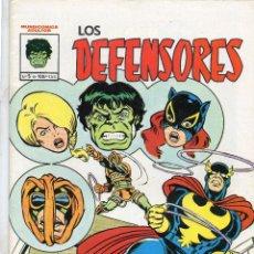 Cómics: COMIC VERTICE - MUNDI COMICS 1982 LOS DEFENSORES Nº 5 (EXCELENTE ESTADO). Lote 57392801