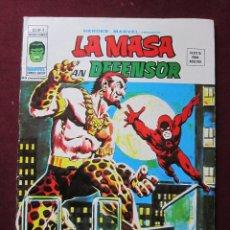 Cómics: HEROES MARVEL Nº 4. LA MASA Y DAN DEFENSOR. VOL. 2. VOLUMEN 2. VERTICE. TEBENI DIFICIL MUY BUENO. Lote 57405830