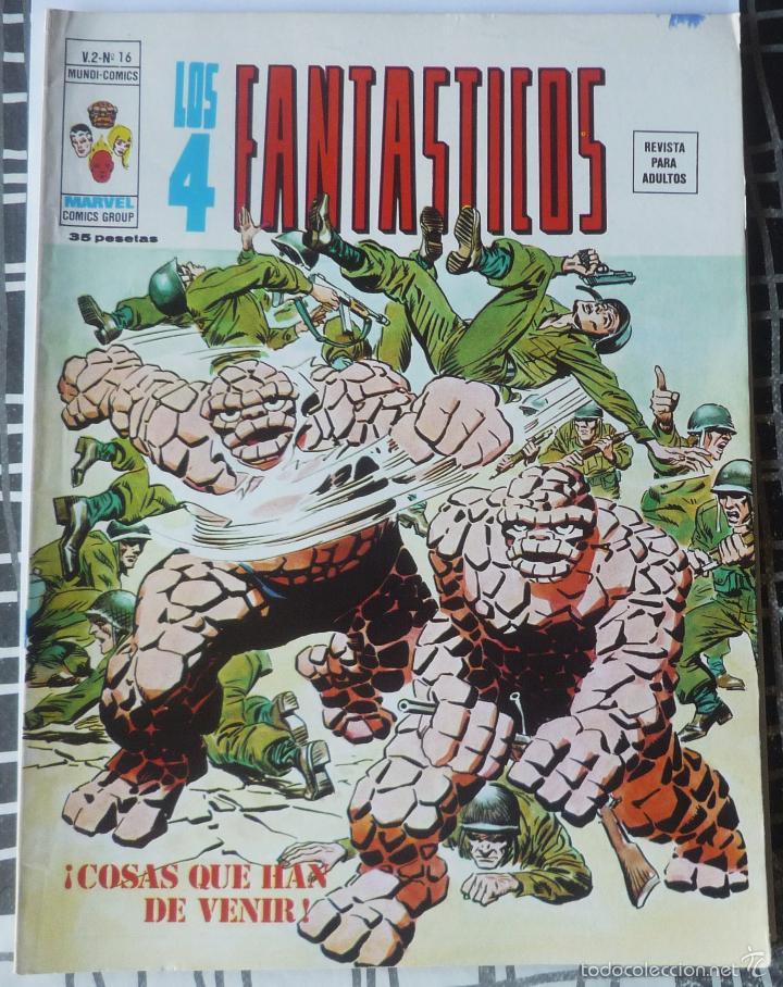 LOS 4 FANTASTICOS V.2 Nº 16. EN EXCELENTE ESTADO (Tebeos y Comics - Vértice - 4 Fantásticos)