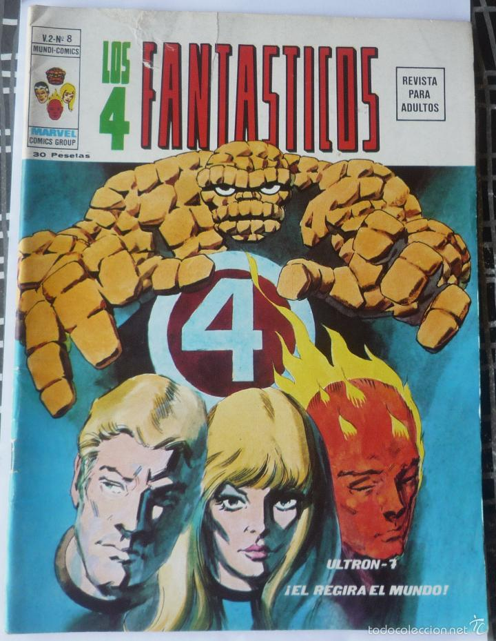 LOS 4 FANTASTICOS V.2 Nº 8 (Tebeos y Comics - Vértice - 4 Fantásticos)