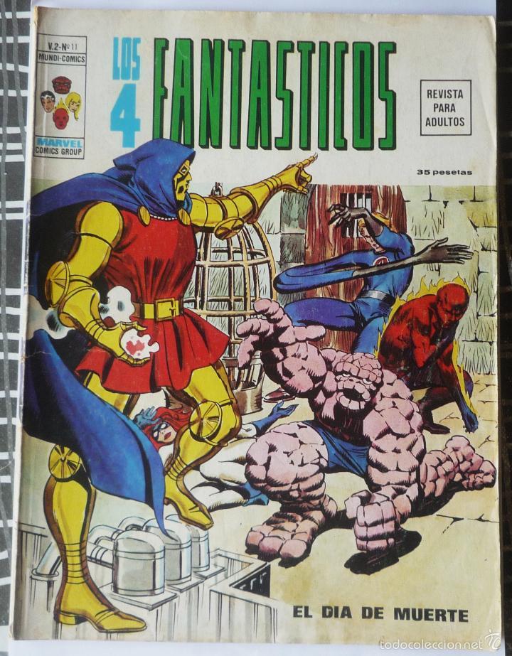 LOS 4 FANTASTICOS V.2 Nº 11 (Tebeos y Comics - Vértice - 4 Fantásticos)