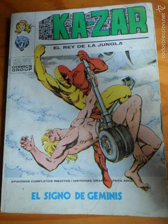 KA-ZAR V.1 Nº 6 - TACO VERTICE (Tebeos y Comics - Vértice - V.1)