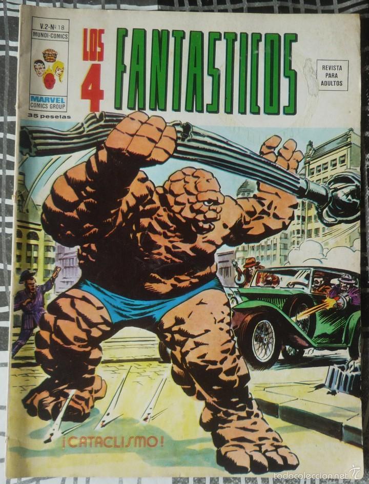 LOS 4 FANTASTICOS V.2 Nº 18 (Tebeos y Comics - Vértice - 4 Fantásticos)