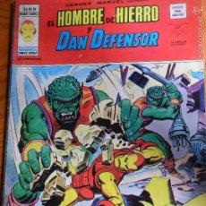 Cómics: EL HOMBRE DE HIERRO Y DAN DEFENSOR - HEROES MARVEL PRESENTA V.2 Nº 34 - VERTICE . Lote 57504346