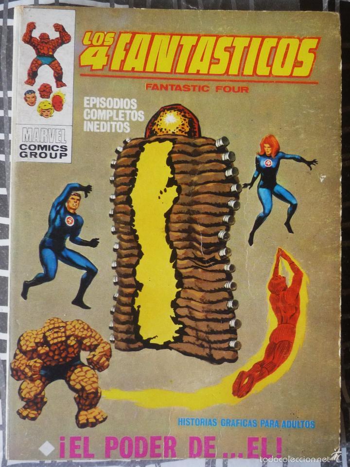 LOS 4 FANTASTICOS V.1 Nº 33 . EN EXCELENTE ESTADO (Tebeos y Comics - Vértice - 4 Fantásticos)