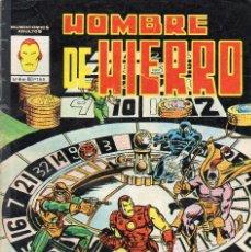 Cómics: COMIC VERTICE - MUNDI COMICS 1982 HOMBRE DE HIERRO Nº 4 (USADO). Lote 57537834