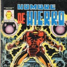 Cómics: COMIC VERTICE - MUNDI COMICS 1981 HOMBRE DE HIERRO Nº 3 (USADO). Lote 57537856