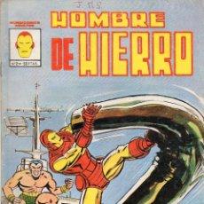 Cómics: COMIC VERTICE - MUNDI COMICS 1981 HOMBRE DE HIERRO Nº 2 (USADO). Lote 57537876