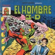 Cómics: COMIC VERTICE - MUNDI COMICS 1982 SUPER HEROES Nº 5 HOMBRE 3-D (MUY BUEN ESTADO). Lote 57538366