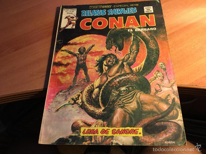 Cómics: LOTE 25 COMICS CONAN RELATOS SALVAJES VOL 1 Nº ENTRE EL 10 Y EL 84 (COIB103) - Foto 2 - 57542076
