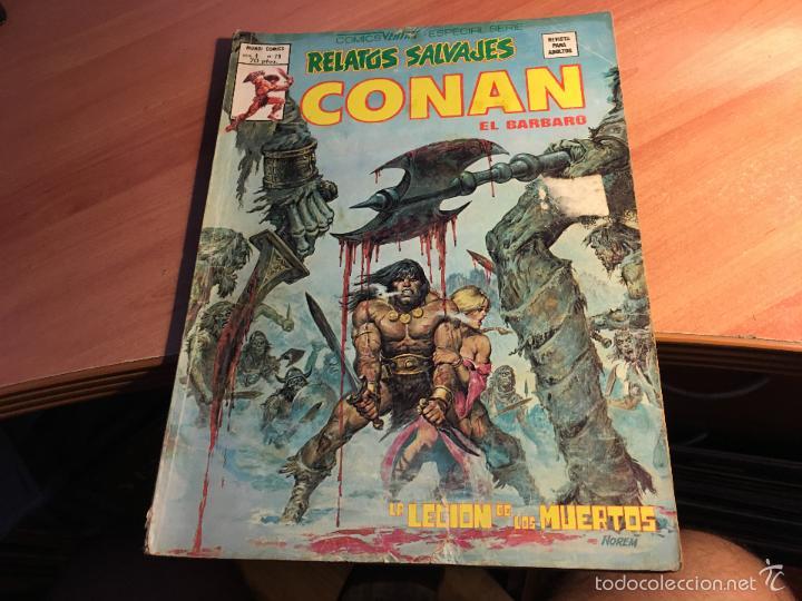 Cómics: LOTE 25 COMICS CONAN RELATOS SALVAJES VOL 1 Nº ENTRE EL 10 Y EL 84 (COIB103) - Foto 6 - 57542076