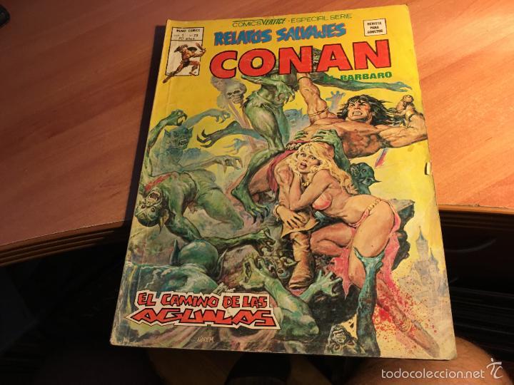 Cómics: LOTE 25 COMICS CONAN RELATOS SALVAJES VOL 1 Nº ENTRE EL 10 Y EL 84 (COIB103) - Foto 7 - 57542076