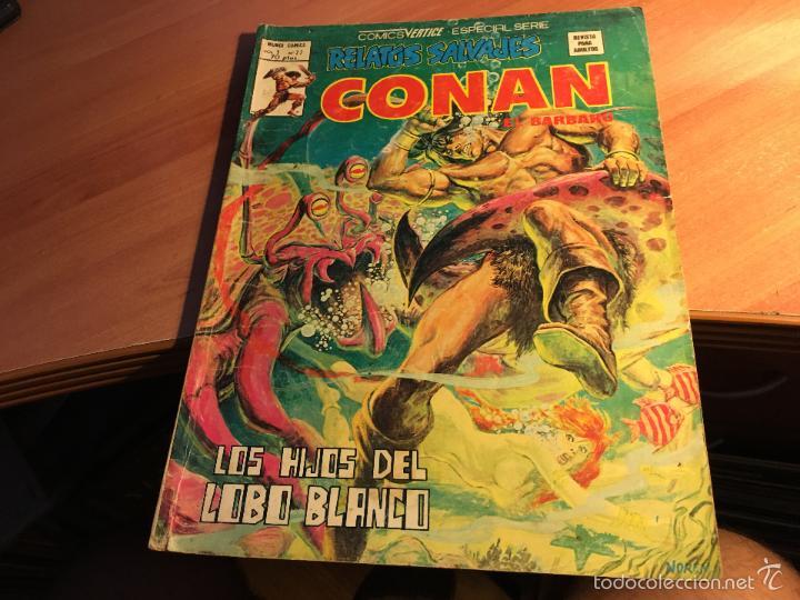 Cómics: LOTE 25 COMICS CONAN RELATOS SALVAJES VOL 1 Nº ENTRE EL 10 Y EL 84 (COIB103) - Foto 8 - 57542076