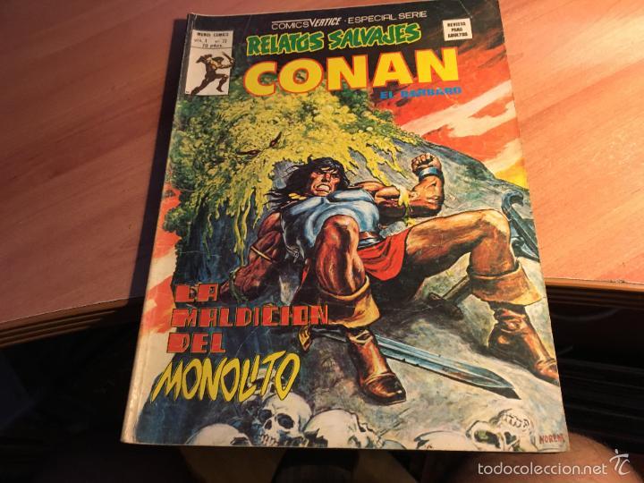 Cómics: LOTE 25 COMICS CONAN RELATOS SALVAJES VOL 1 Nº ENTRE EL 10 Y EL 84 (COIB103) - Foto 11 - 57542076