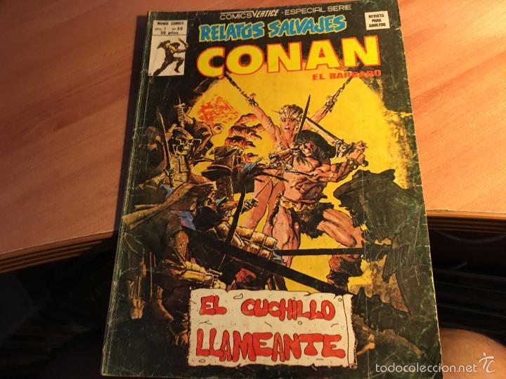 Cómics: LOTE 25 COMICS CONAN RELATOS SALVAJES VOL 1 Nº ENTRE EL 10 Y EL 84 (COIB103) - Foto 13 - 57542076