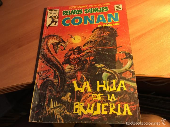 Cómics: LOTE 25 COMICS CONAN RELATOS SALVAJES VOL 1 Nº ENTRE EL 10 Y EL 84 (COIB103) - Foto 14 - 57542076