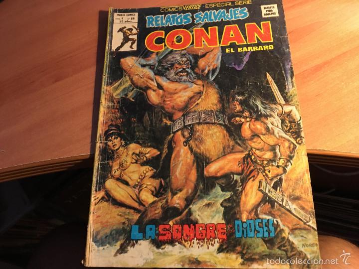 Cómics: LOTE 25 COMICS CONAN RELATOS SALVAJES VOL 1 Nº ENTRE EL 10 Y EL 84 (COIB103) - Foto 15 - 57542076
