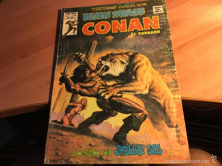 Cómics: LOTE 25 COMICS CONAN RELATOS SALVAJES VOL 1 Nº ENTRE EL 10 Y EL 84 (COIB103) - Foto 16 - 57542076