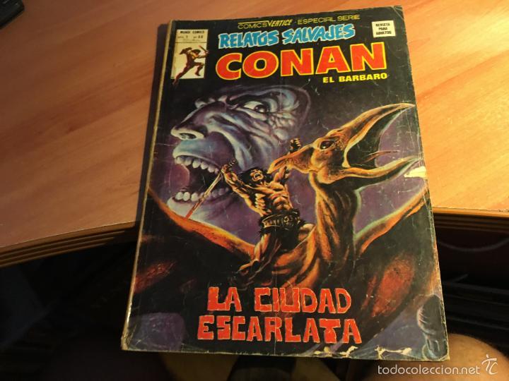Cómics: LOTE 25 COMICS CONAN RELATOS SALVAJES VOL 1 Nº ENTRE EL 10 Y EL 84 (COIB103) - Foto 17 - 57542076