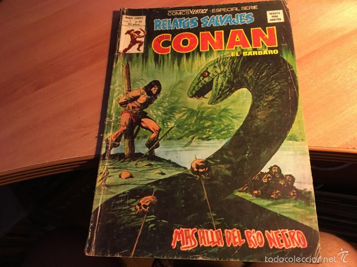 Cómics: LOTE 25 COMICS CONAN RELATOS SALVAJES VOL 1 Nº ENTRE EL 10 Y EL 84 (COIB103) - Foto 18 - 57542076