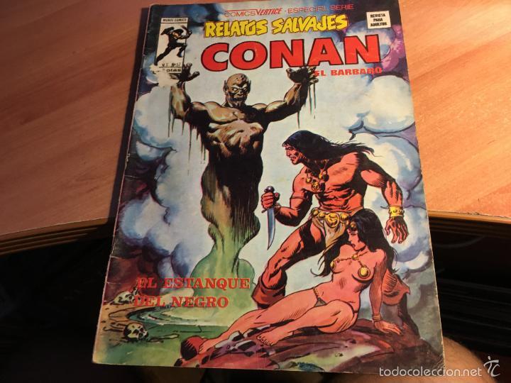 Cómics: LOTE 25 COMICS CONAN RELATOS SALVAJES VOL 1 Nº ENTRE EL 10 Y EL 84 (COIB103) - Foto 20 - 57542076