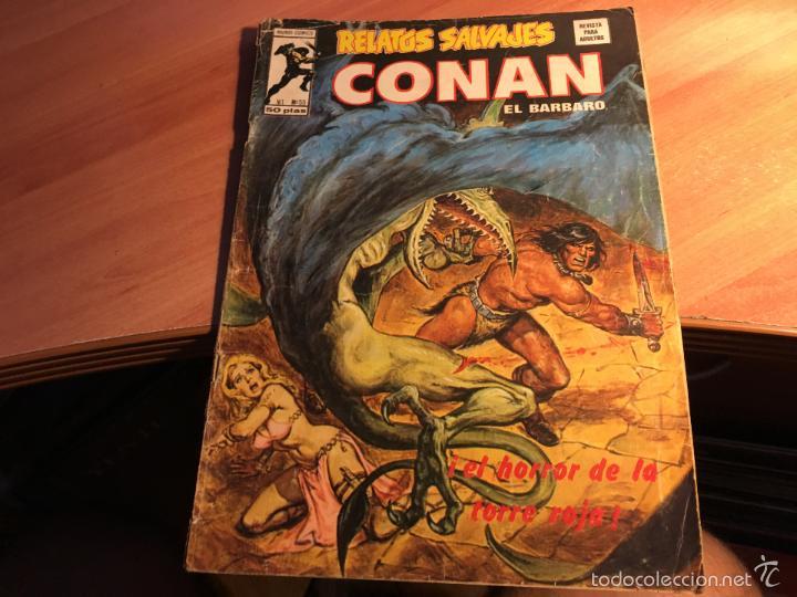 Cómics: LOTE 25 COMICS CONAN RELATOS SALVAJES VOL 1 Nº ENTRE EL 10 Y EL 84 (COIB103) - Foto 21 - 57542076