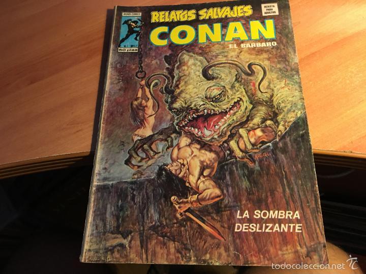 Cómics: LOTE 25 COMICS CONAN RELATOS SALVAJES VOL 1 Nº ENTRE EL 10 Y EL 84 (COIB103) - Foto 22 - 57542076