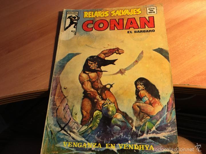 Cómics: LOTE 25 COMICS CONAN RELATOS SALVAJES VOL 1 Nº ENTRE EL 10 Y EL 84 (COIB103) - Foto 23 - 57542076