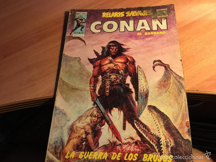 Cómics: LOTE 25 COMICS CONAN RELATOS SALVAJES VOL 1 Nº ENTRE EL 10 Y EL 84 (COIB103) - Foto 24 - 57542076