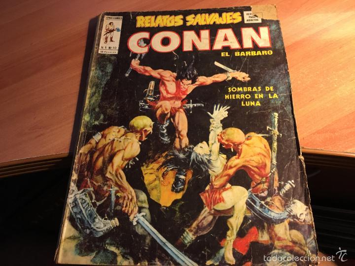 Cómics: LOTE 25 COMICS CONAN RELATOS SALVAJES VOL 1 Nº ENTRE EL 10 Y EL 84 (COIB103) - Foto 26 - 57542076