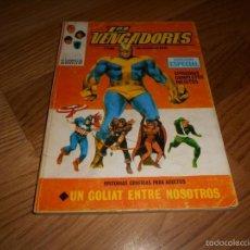 Cómics: COMIC TACO AÑOS60 VERTICE LOS VENGADORES Nº 12 UN GOLIAT ENTRE NOSOTROS B.E.. Lote 57614997