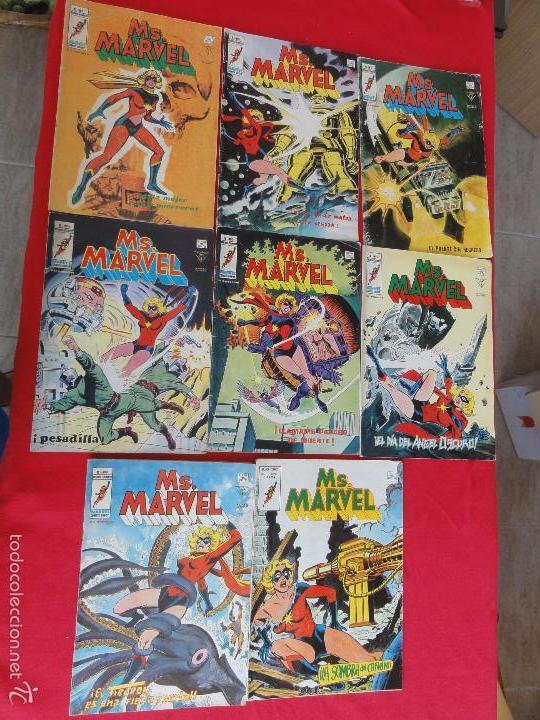 MS. MARVEL V1. CASI COMPLETA. 8 Nº. C-11B (Tebeos y Comics - Vértice - V.1)