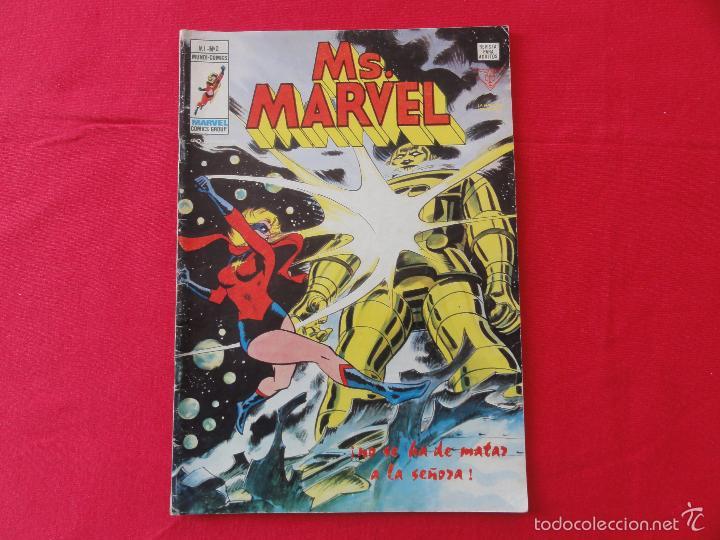 Cómics: MS. MARVEL V1. CASI COMPLETA. 8 Nº. C-11B - Foto 3 - 57688036