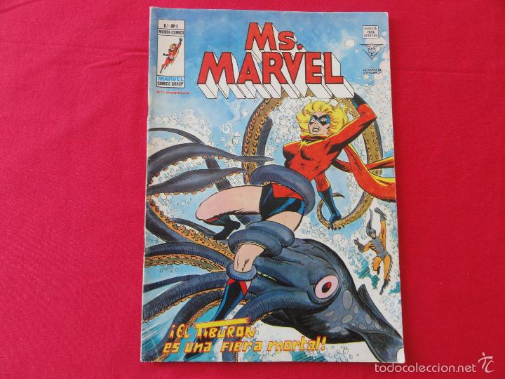 Cómics: MS. MARVEL V1. CASI COMPLETA. 8 Nº. C-11B - Foto 8 - 57688036