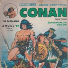 Cómics: CONAN THE BARBARIAN - NÚMERO 1 - CÓMICS VÉRTICE. Lote 57769799
