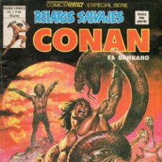 Cómics: COMIC VERTICE 1989 RELATOS SALVAJES VOL1 Nº 82 CONAN (BUEN ESTADO). Lote 57792094