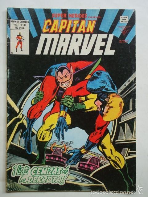 SUPER HEROES PRESENTA VOL. 1 Nº 133 CAPITAN MARVEL (VÉRTICE) (Tebeos y Comics - Vértice - Super Héroes)