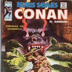 Cómics: COMIC VERTICE 1976 RELATOS SALVAJES VOL1 Nº 41 ( CONAN ) MUY BUEN ESTADO. Lote 57831984