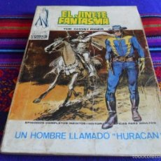 Cómics: VÉRTICE VOL. 1 EL JINETE FANTASMA Nº 4. 1973. 25 PTS. UN HOMBRE LLAMADO HURACÁN. RARO.. Lote 57869651